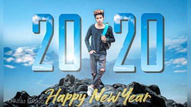 Photo of Happy New Year Editing Tutorial in PicsArt and Lightroom