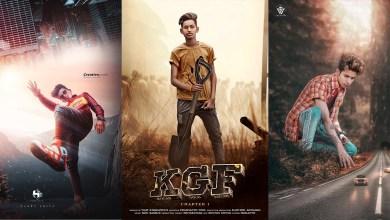 KGF Poster Editing