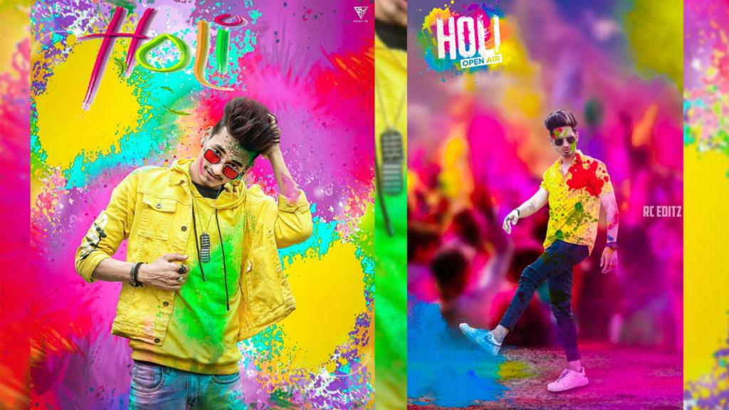 Holi editing