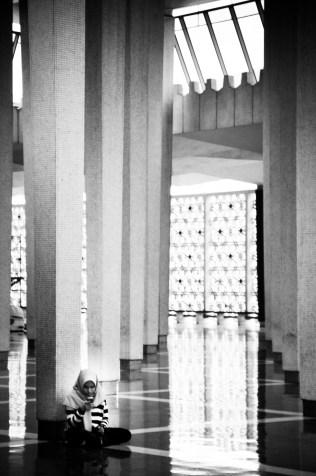 Masjid Negara Malaysia, Sree is travelling (2)