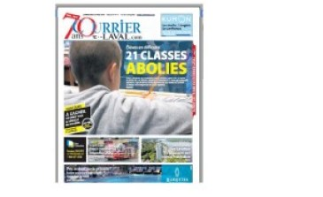 20150527 Courrier Laval 21 classes abolies