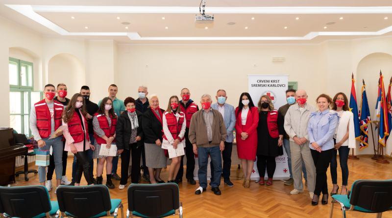 Додељена признања волонтерима Црвеног крста у Сремским Карловцима