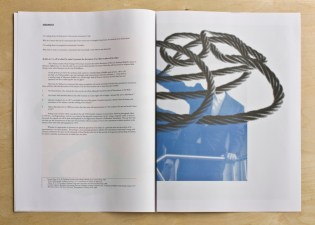 Zero Knot - broadsheet publication