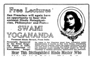 Paramahansa Yogananda SF Chronicle 1925