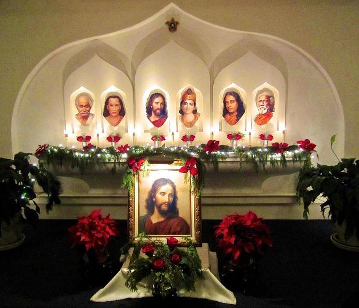 SFMG Christmas altar