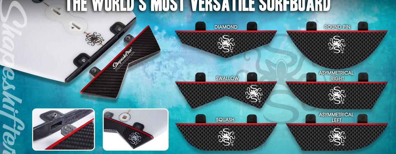 Shape Shifter Surfboards Six Tails One Board