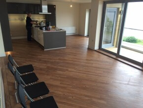 Laminate and Vinyl Commercial Flooring