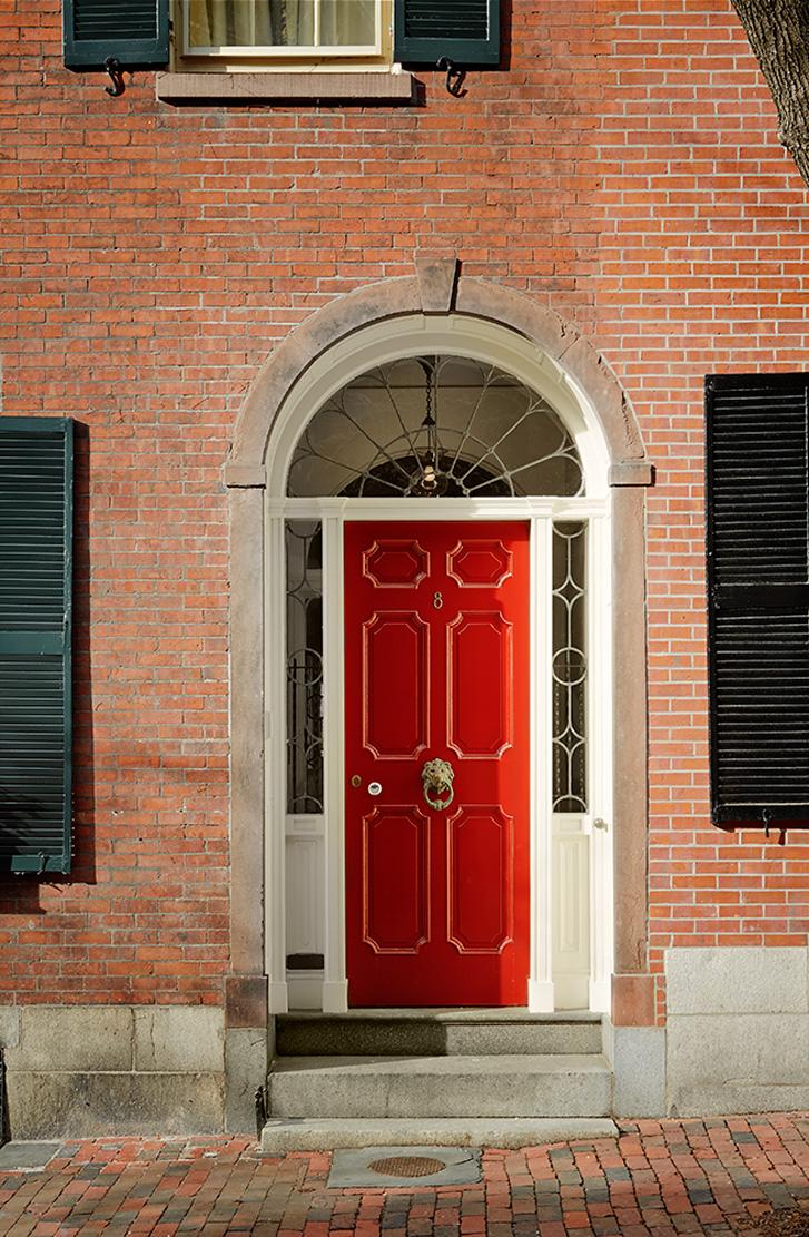 Beacon Hill - Red Door