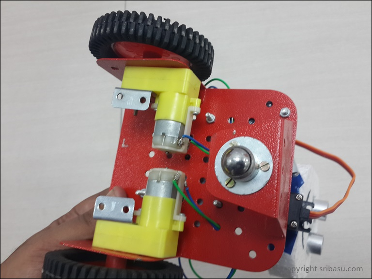 Creating an obstacle avoiding robot with arduino adafruit for Best dc motors for robots