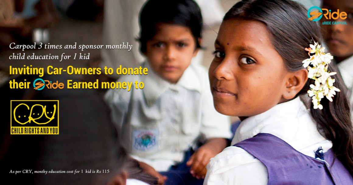 Donate with CRY