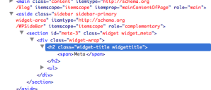 Changing WordPress widget title heading tag using jQuery