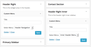 How to replace Header Right widget area conditionally in Genesis
