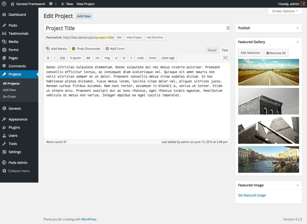 project-cpt-featured-gallery-backend