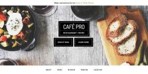 How to add Buttons below Site Title and Description in Cafe Pro