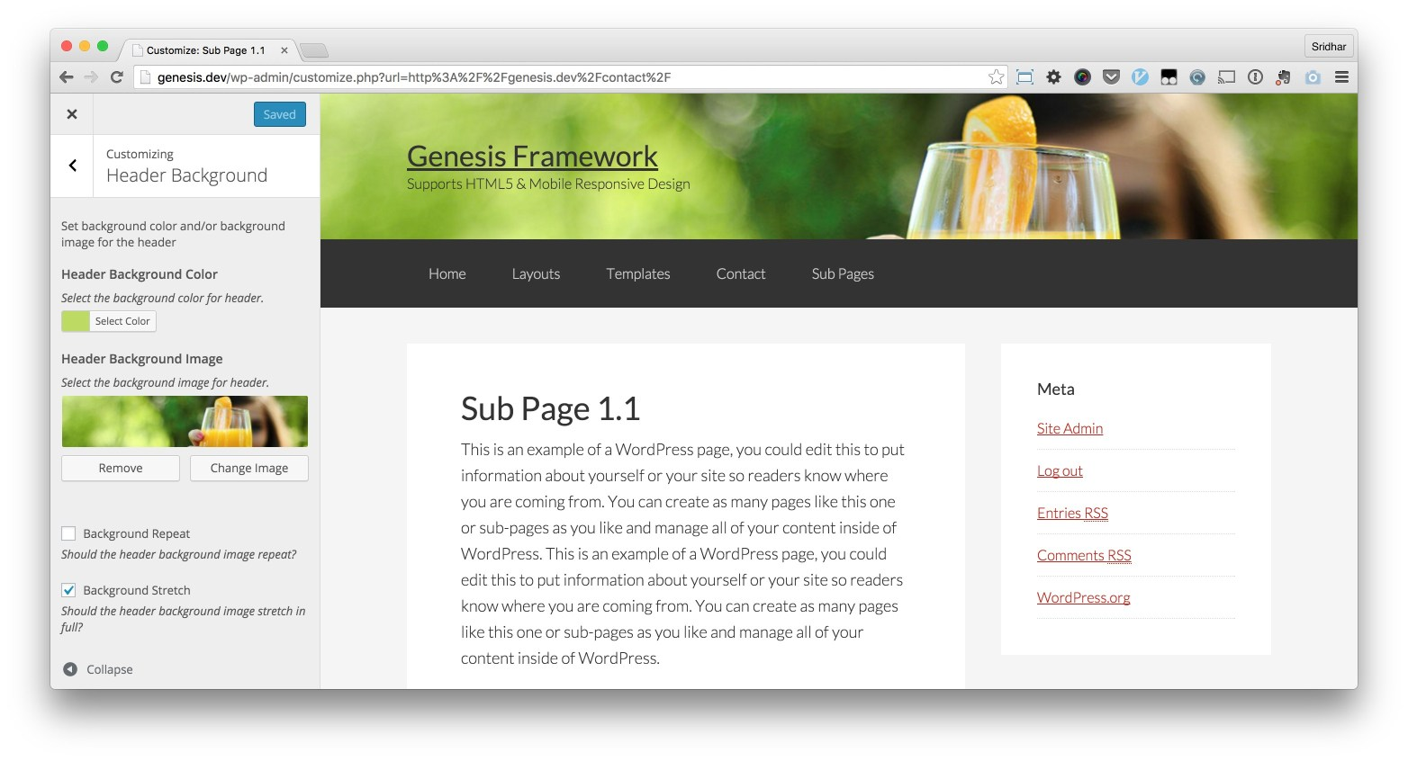 customizer-genesis-header