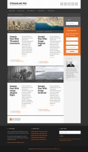 Alternate blog and category layout with equal height columns in Streamline Pro