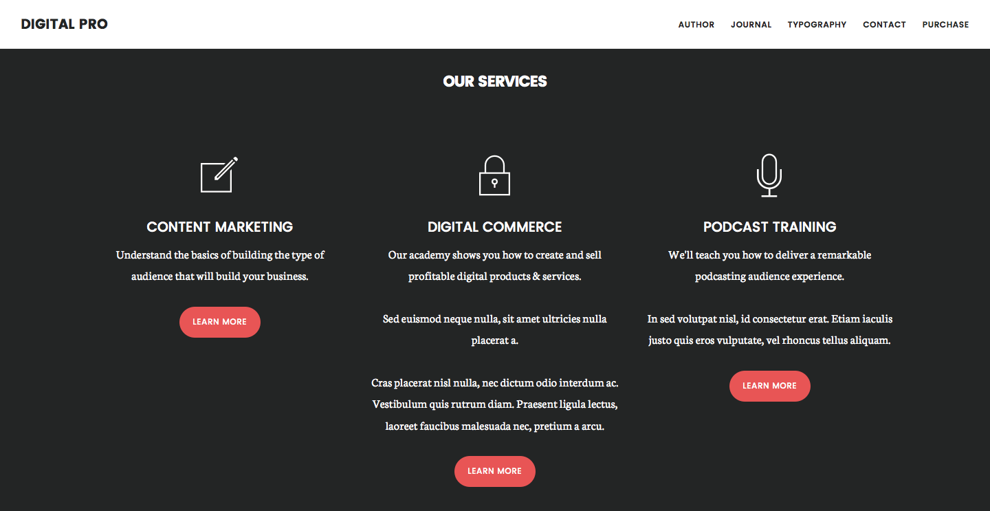 Digital Pro – A Professional Theme for Business