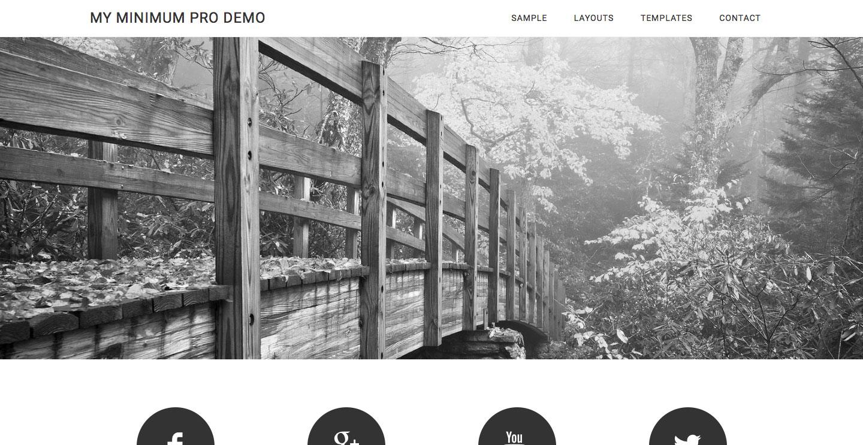 remove-tagline-homepage-minimum-pro