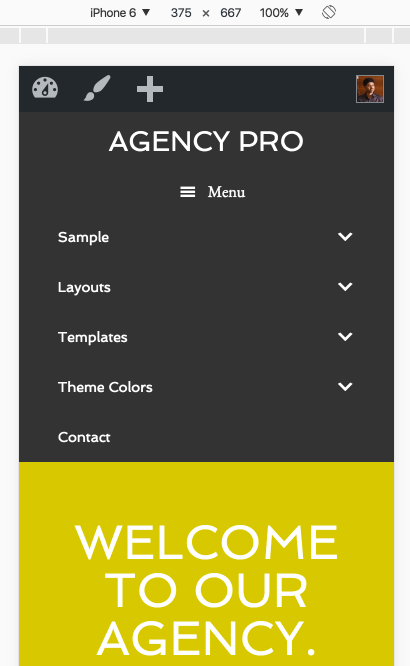 agency-pro-menu-text-hamburger