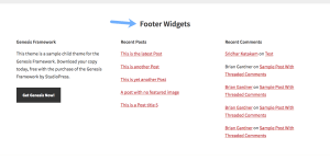 3 Methods to Add a Title for Footer Widgets in Genesis