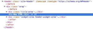 How to insert HTML between Title Area and Header Widget Area in Genesis