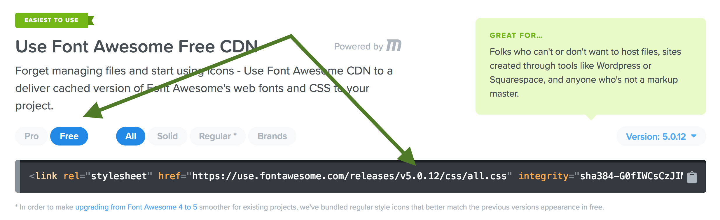 How to load and use Font Awesome 5 in WordPress - Sridhar Katakam