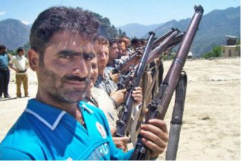 Mohammad Aslam, a former militant, dons a different mantle