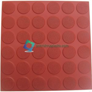 36-Round-Circle-Checkered-Tile-With-Matt-Finish