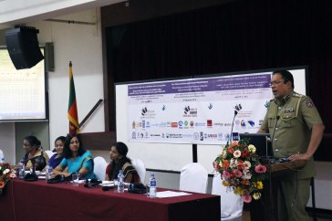 SSP Jayasooriya, Director Bureau for the Prevention and Abuse of Children and Women