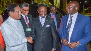 Grand welcome for President at Jomo Kenyatta International Airport