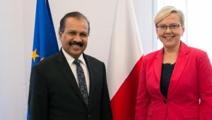 Minister Anna Moskwa spotkała się z Ambasadorem Sri Lanki