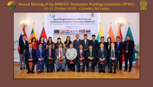 COLOMBO MEETING PRESSES FOR RATIONALIZATION OF AREAS OF COOPERATION AND ADOPTION OF A BIMSTEC CHARTER