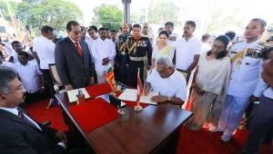 New President sworn-in
