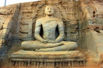 Sacred Quadrangle Vatadage Polonnaruwa Sri Lanka 1