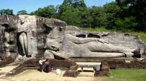 Sacred Quadrangle Vatadage Polonnaruwa Sri Lanka 15