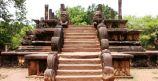 Sacred Quadrangle Vatadage Polonnaruwa Sri Lanka 16