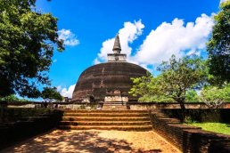 Sacred Quadrangle Vatadage Polonnaruwa Sri Lanka 17