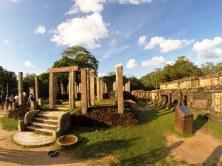 Sacred Quadrangle Vatadage Polonnaruwa Sri Lanka 30