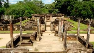 Sacred Quadrangle Vatadage Polonnaruwa Sri Lanka 35