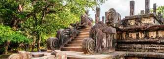 Sacred Quadrangle Vatadage Polonnaruwa Sri Lanka 36