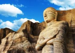 Sacred Quadrangle Vatadage Polonnaruwa Sri Lanka 50