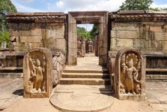 Sacred Quadrangle Vatadage Polonnaruwa Sri Lanka 56