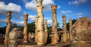 Sacred Quadrangle Vatadage Polonnaruwa Sri Lanka 57