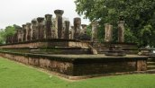 Sacred Quadrangle Vatadage Polonnaruwa Sri Lanka 6