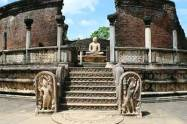 Sacred Quadrangle Vatadage Polonnaruwa Sri Lanka 63