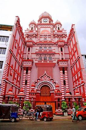 pettah red mosque colombo 23