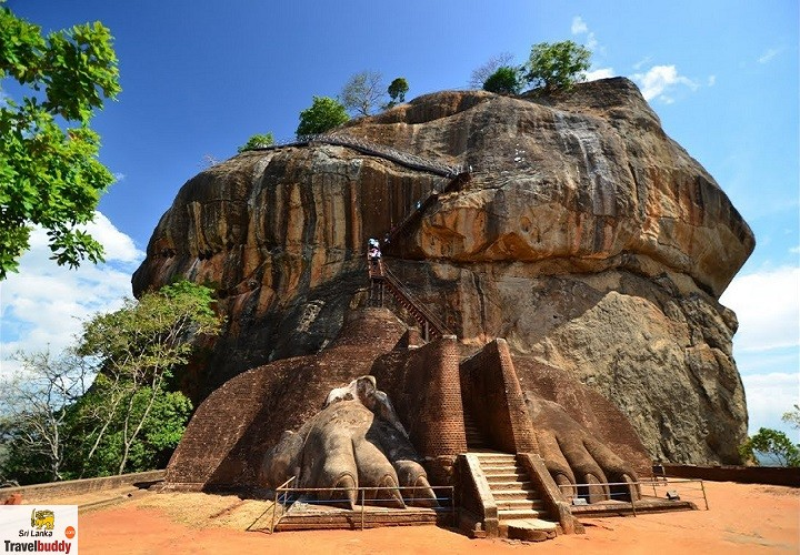 Sigiriya Rock Fortress and Dambulla Cave Temples