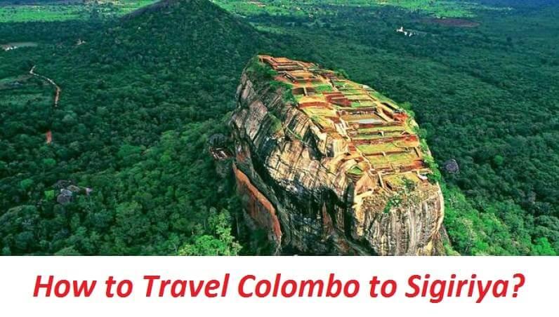 Travelling Colombo to Sigiriya
