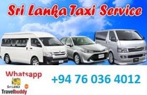 sri lanka taxi service