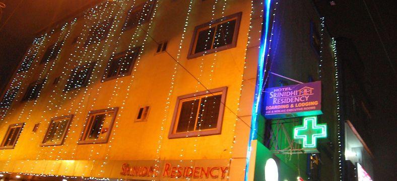Hotel Srinidhi Residency Bangalore